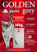 Katzenstreu Golden Grey Master