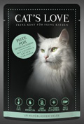 Cat's Love Pute pur