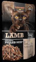 Leonardo Lamb + extra pulled Beef