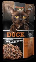 Leonardo Duck + extra pulled Beef