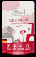 MjAMjAM - Quetschie kulinarischer Hirsch und Truthahn an frischen Cranberries