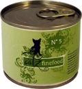 Catz finefood No. 5 - Lachs und Geflügel