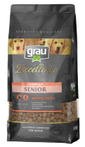 Grau Excellence Senior mit Geflügel