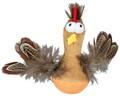 Steh-auf-Huhn mit Federn und Sound